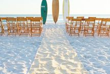 Seaside Wedding / Surf, sun, sand, and wedding bliss.