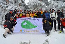 Hiking In Madrid. Academia Paraninfo patrocinador oficial. / Paraninfo, patrocinador de Hiking In Madrid. Hemos disfrutado de la nieve. Atención a próximas actividades: http://www.hikinginmadrid.org/
