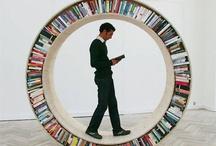 Bookshelves / by Ange Brown