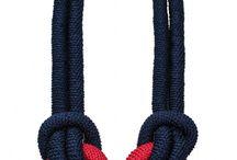 Бусы-шарфы