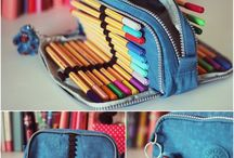Pencil cases / sew diy