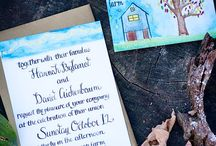 Hannah + David - Photos by Cappy Hotchkiss / Hannah + David tie the knot at Full Moon Farm.  All photography by @CappyHotchkiss. #farmwedding #barnwedding #outdoorwedding #rusticwedding #fallwedding