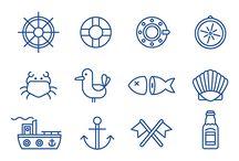 sailing drawings