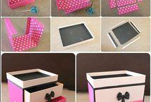 Kartondan takı kutusu
