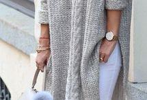 пальто вязаные