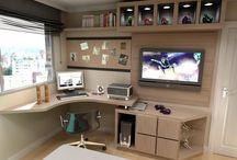 Angads study room