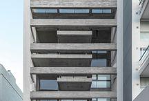 Edificios entre medianeras