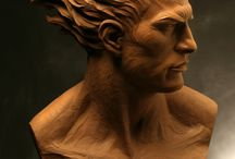 Reference Material - Clay Sculpting
