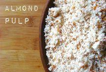 Nut flour/pulp