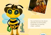 Save the Bees / 1 in every 3 bites of food is made possible by bees and other pollinators. Help us create some buzz to save the bees!