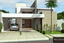 Latest House front view
