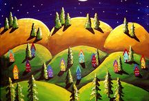 Folk & Whimsical Art / by Patsy A. Griffith