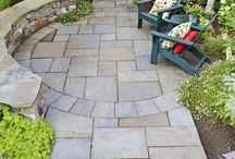 Paved Garden / Ideas for our courtyard garden