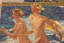 Julia Smolenkova Art / Julia Smolenkova Art Painting Graphic Mosaic Sculpturr