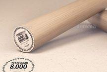 New Rubber Stamp Mockup Download