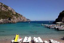 #CORFÚ / Corfú.Isla griega del mar Jónico, relacionada, según la mitología, con Poseidón.