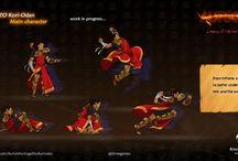 African-Fantasy gamedesign / Jeux vidéo inspirés de la culture africaine, Gameplay dynamique, innovant et jouissif