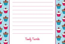 Binder - Recipes & Menu Planning / Menu planning makes life less expensive, not to mention WAAAY easier.  Keeping up with such things in a binder is a great idea. / by Katherine D. Beeman
