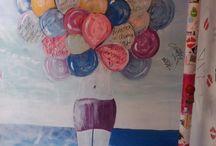 Miss ballon / Urbain ballon jolie couleur