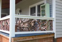North Carolina Porch Handrails