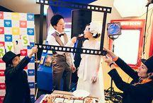 映画館で結婚式!「シネ婚映画祭」 / 映画館を舞台にした映画のようなシネマウェディング