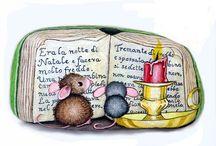 Mäuse auf stein