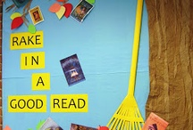 Look over here! Library display ideas