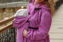 Пальтишко Belila для слинга. Belilamam. / Это стильное пальто предназначено для девушек, которые всегда хотят выглядеть не только женственно и сексуально, но чувствовать себя комфортно и уверенно. Удлинённая модель отлично защищает от холода и выгодно подчеркивает достоинства фигуры.  А лёгкая сборка на рукавах добавляет образу немного кокетства и очарования.  Подходит для ношения:  - в период беременности со вставкой без капюшона  - с малышом в слинге или эрго рюкзаке, переднее положение, возраст ребенка от 0 до 2 лет.