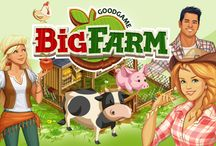 Goodgame Big Farm / Relaxed and tranquil country life is moved beyond… wake up and take off your coat to work! Build up the most flourishing farm all over the world with Goodgame Studios tycoon MMORPG Big Farm.