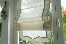 Okno - firanki , zasłonki , roletki