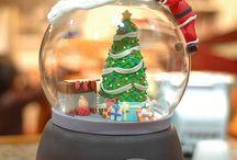 Les Boules de neige Noël