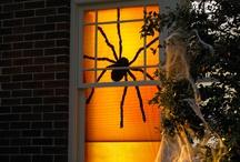 Halloween in the window - az ablakban