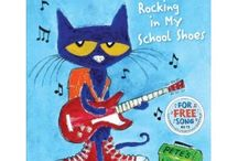 Pete the Cat  / Most of the Pete the Cat printables have been removed from websites due to copyright in July 2012. I left the links here for ideas.