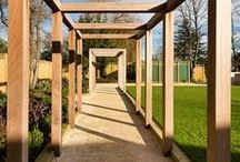 Garden Structures / Inspiration for pergola designs, gazebos & other garden structures #pergola #gazebo #gardenstructures #gardenbuildings #gardenarches