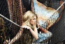 Mermaids/merman / by Marjorie Smith