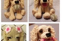 hračky - háčkované, pletené