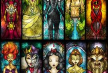 STAINED GLASS / by Sandra Hozey