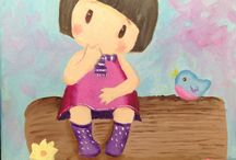 Dibujo y Pintura por los más pekes¡¡     Drawing and Painting for the little ones / Trabajos de Dibujo y Pintura realizados por nuestr@s alumn@s más pequeños Drawing and painting work performed by our @ s smaller students @ s