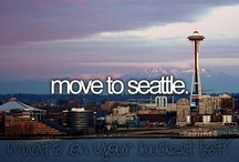 Moving to Seattle Washington / by Jamie Monteith