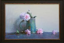 Ning Lee / Still life/floral painting