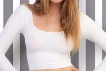 Basics Shirts Tops - Tight Fit - Soft Microfiber Quality