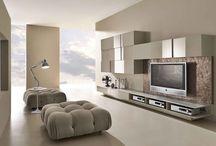 Modern TV wall