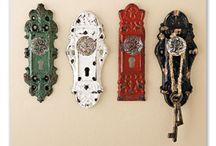 repurposed door knobs