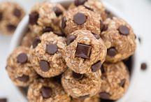 Vegan Snacks / All recipes will be modified to use chia eggs/almond milk/vegan dairy options/no honey