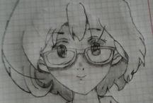 я рисую