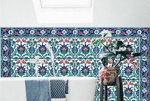 Für Wand und Boden *** for walls and floors / Bodenbeläge, Fliesenaufkleber, Vinylmatten, Wandtattos