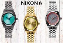 Nixon / As colecções de relógios Nixon com design clean mas muito muito estilo. Seleccionámos alguns dos modelos mais procurados.