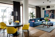 Colourfull interiors