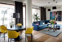 Colourfull interiors