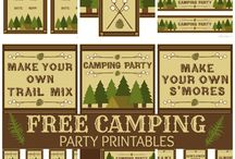 Camping Party for Q